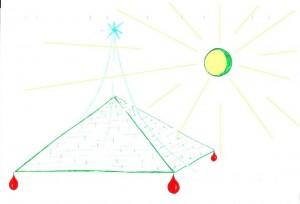 Pyramide tatoo
